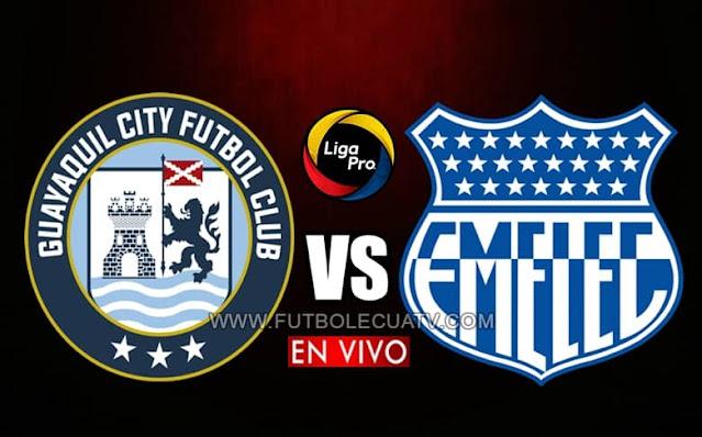 Guayaquil City recibe a Emelec en vivo desde las 15h30 hora local, por la fecha dos del campeonato ecuatoriano, siendo emitido por GolTV Ecuador a efectuarse en el estadio Christian Benítez. Con arbitraje principal de Guillermo Guerrero.