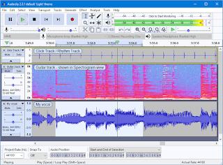 Audacity Free  Audio Editing Software इसे इस्तेमाल करना बहुत ही आसान है