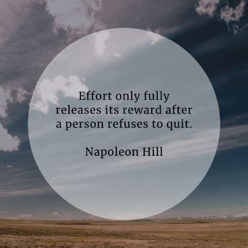 Effort quotes that'll inspire you to be more determined