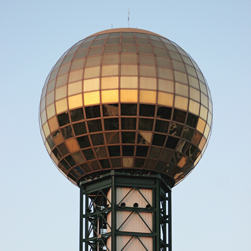 Sunsphere Knoxville Tennessee