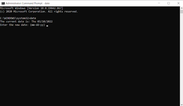 Command_Prompt_se_Computer_Date_Change_kaise_kare
