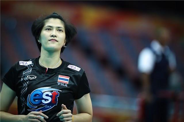 Pleumjit Thinkaow tự hào gắn bó hơn 20 năm với bóng chuyền Thái Lan