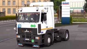 MAZ-5340/5440/6430А8 truck mod