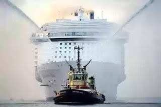 Accident on World's biggest cruise ship Harmony of the seas