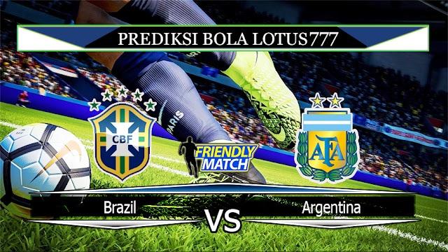 Prediksi Brazil vs Argentina 16 November 2019