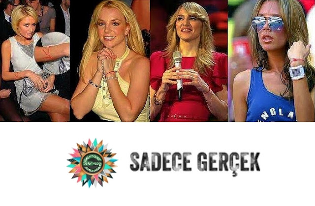 Kabala ve Kırmızı ip - Madonna, Paris Hilton Britney Spears