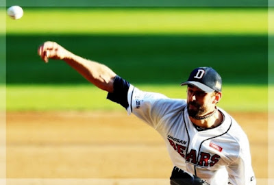 Dustin Nippert shows the elegance of a model mercenary.