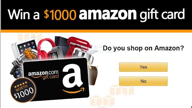 Win a $1000 Amazon Voucher