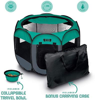 Portable Foldable Pet Playpen