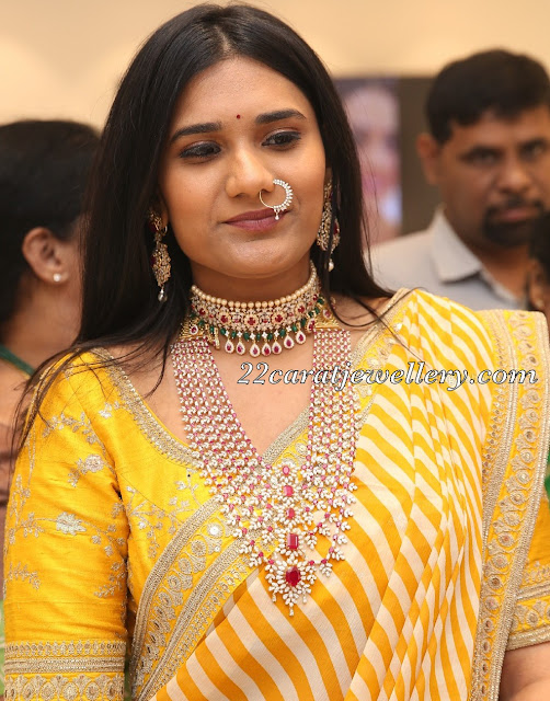 Latest Jewellery Sets by Manjula Jewels
