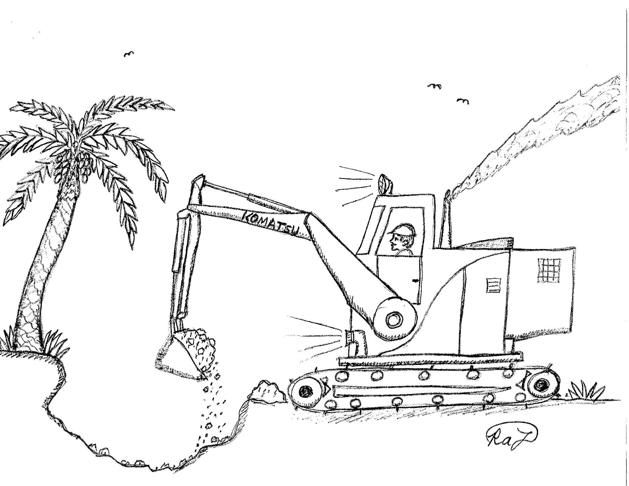 Robin S Great Coloring Pages Heavy Equipment Coloring Pages