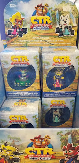CTR toys in boxes at Acme Comics in Sioux City