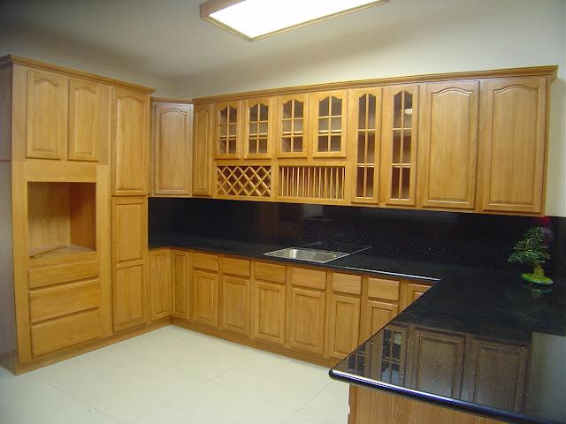 Kitchen Set Dan Furniture Desain Dapur Kering Basah Terbaru
