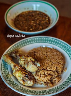 Resep Nasi Ayam Hainan Rebus bareng ayam dan beras