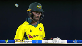 Glenn Maxwell 56 vs India Highlights