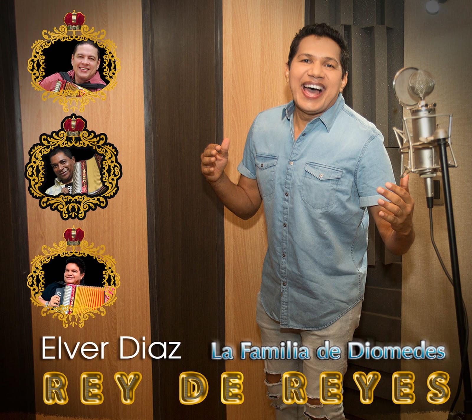 El 20 de octubre será el día del Rey De Reyes, el nuevo CD de Elver Díaz la familia De Diomedes