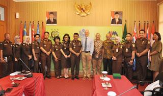Jalin Kemitraan Bangun SDM Handal, Badiklat Kedatangan Deligasi IDLO