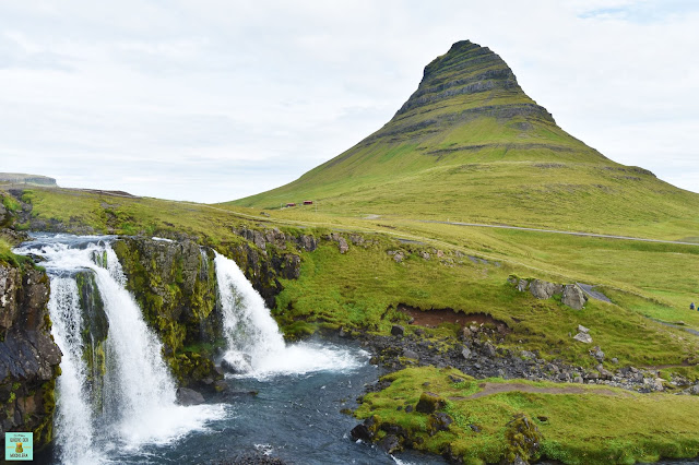 Kirkjufell en Snaefellsnes, Islandia
