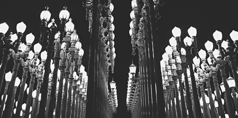 Urban Light LACMA Chris Burden