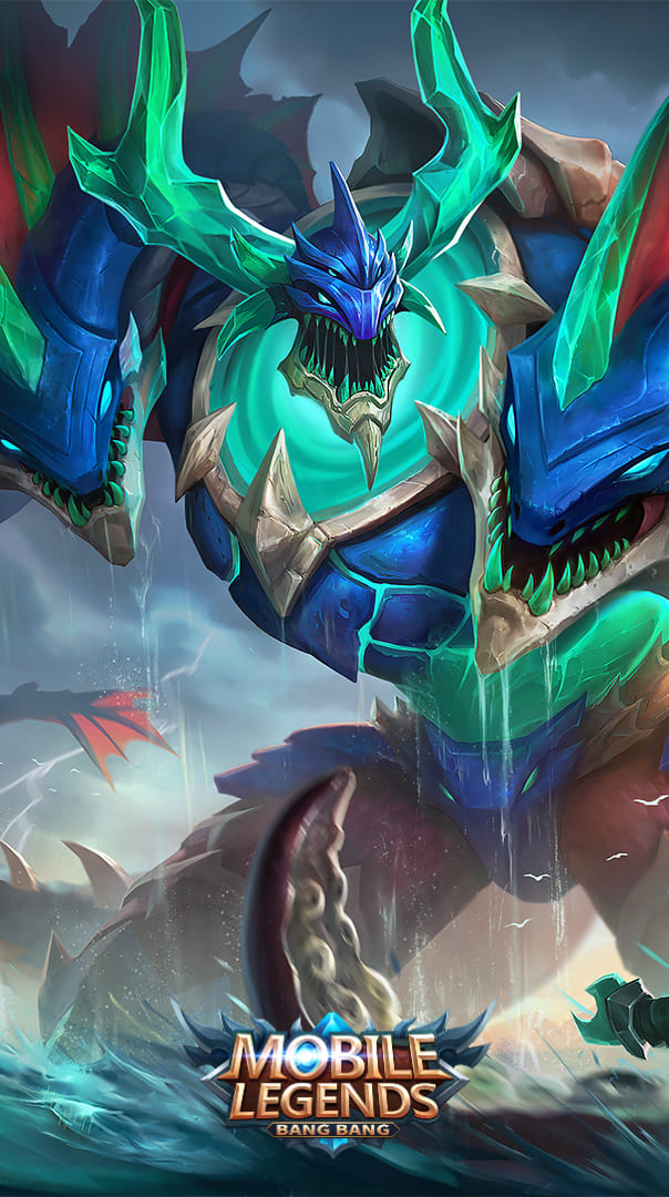 Wallpaper Thamuz Liquid Fire Skin Mobile Legends Full HD for Android and iOS