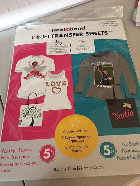 printable inkjet transfer sheets, printable htv, print and cut vinyl