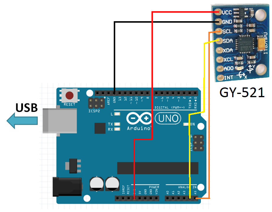 Image result for mpu6050 arduino
