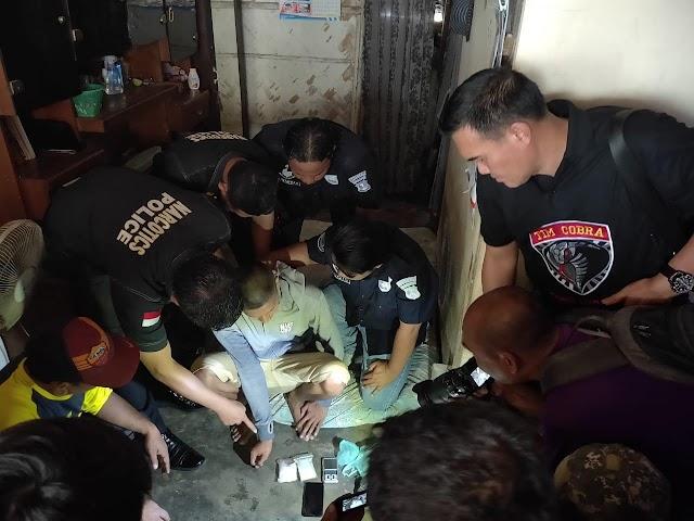 Pengedar Narkoba Asal Sokobanah, Pria Ini Ditangkap Tim Cobra Polres Lumajang