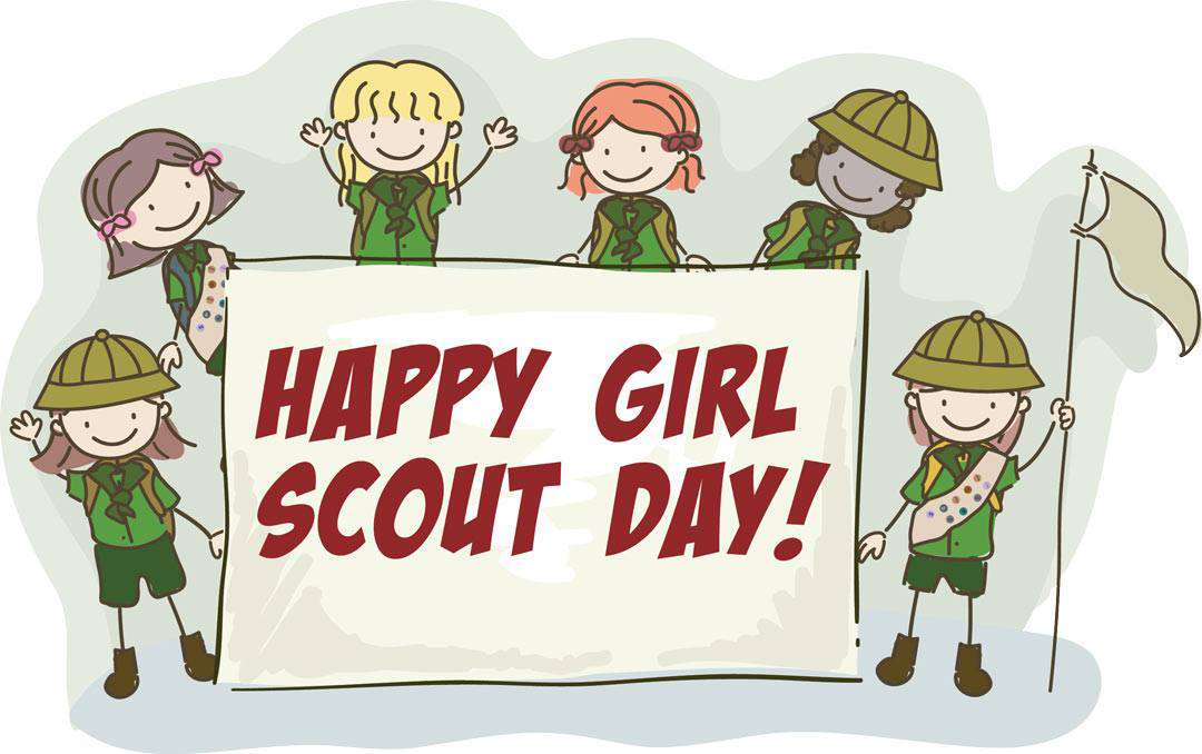 National Girl Scout Day Wishes Images