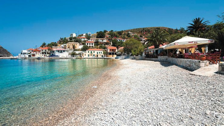 33 Amazing Beaches From Around The World - Assos, Kefalonia, Greece