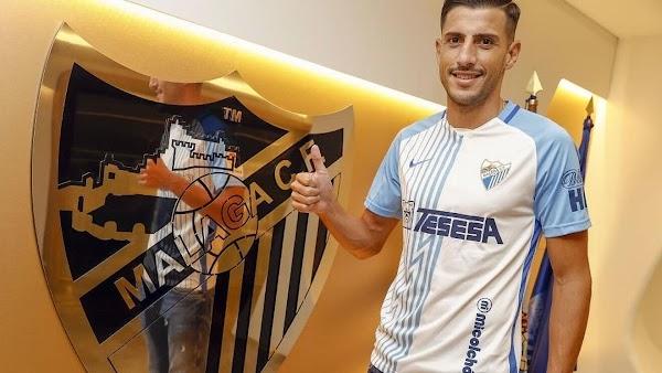 Málaga, Pablo Chavarría tiene un año más opcional de contrato