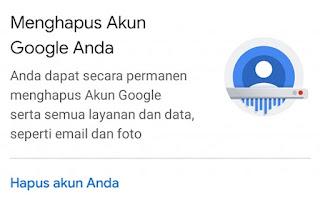 Cara Menghapus Akun Google Permanen Di Android