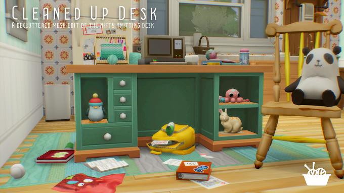 Cleaned Up Desk