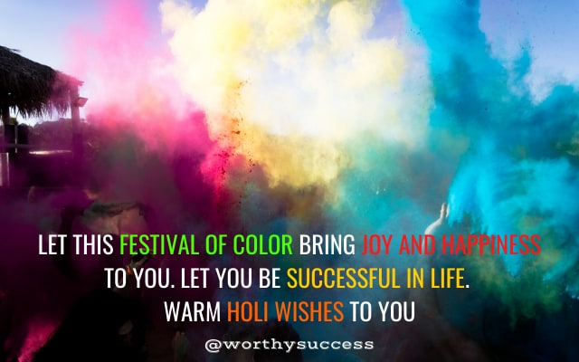 Wishes for Happy Holi – Colorful Happy Holi Wishes