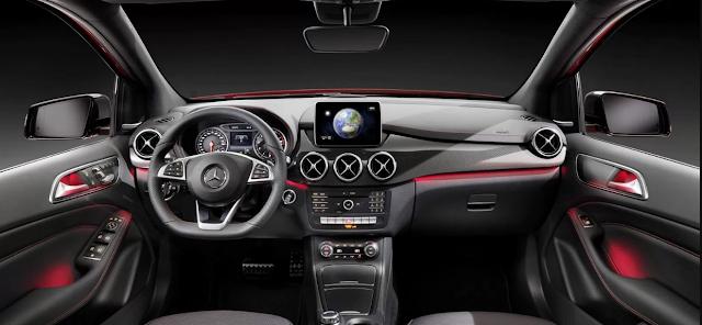 Review Mercedes B Class Interior