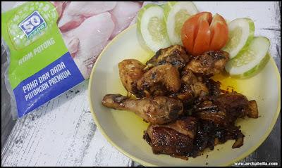 Ayam Goreng Mentega dengan SO GOOD AYAM POTONG siap olah