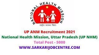 UP Nation Health Mission NHM Recruitment 2021 apply online