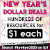 RING IN 2021 WITH DOLLAR DEALS AND A STORE SALE!