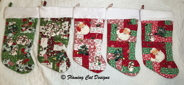 Christmas Stockings Completed