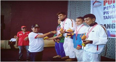 Cabang Judo Kota Padang di torehkan 5 Medali Emas