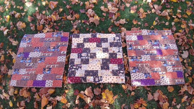 Charity quilts using Debbie Mumm fabric