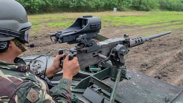 .50 Caliber Machine Gun Red Dot Sight System Acquisition Project for the Philippine Army