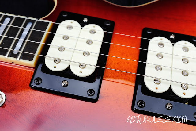 Risa LP Tenor Electric Ukulele pickups