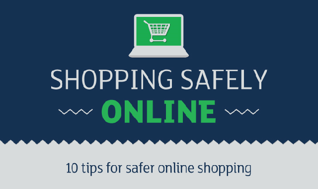 Shopping Safety Online #infographic