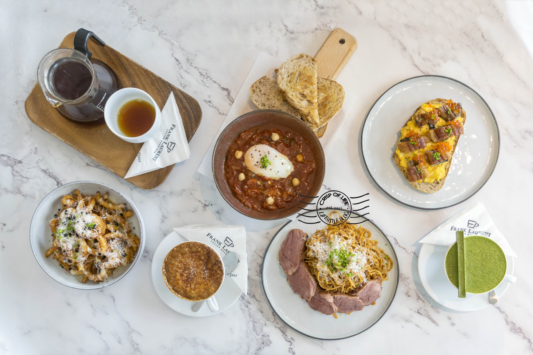 New Menu Launched by Frank Laurent Cafe