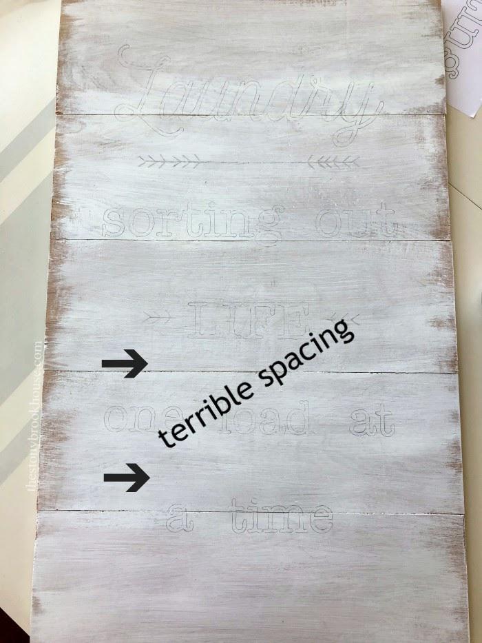 sign making - terrible spacing