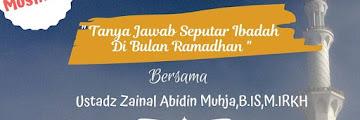 Kajian Ahad Tanya Jawab Seputar Ibadah di Bulan Ramadhan Khusus Muslimah 20190505