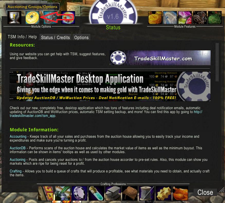 TradePrincess: Trade Skill Master: Auctioning