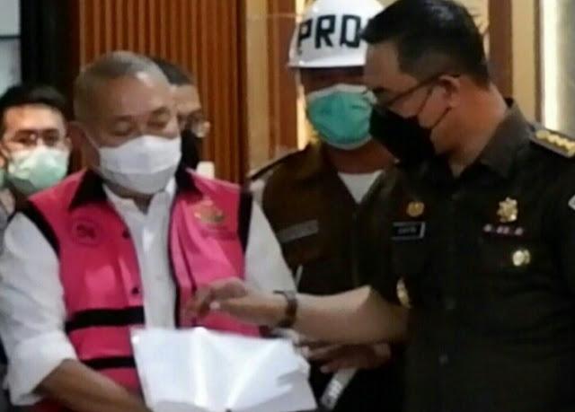 Mantan Gubernur Sumsel Alex Noerdin Ditahan Kejagung