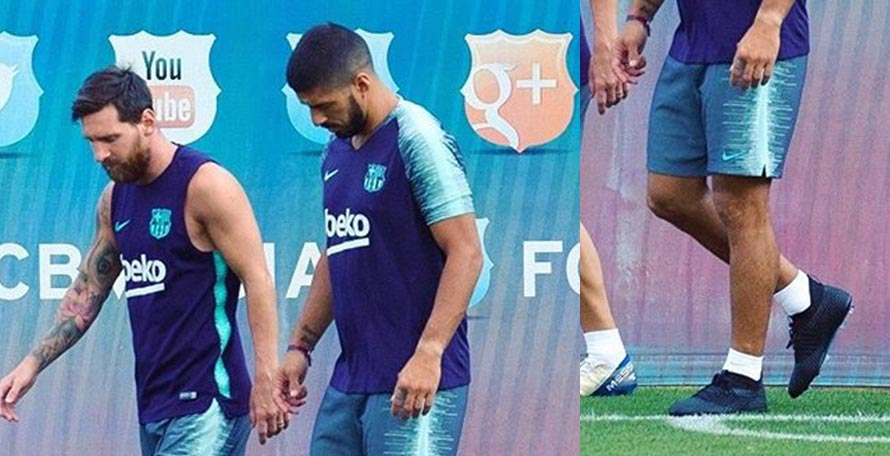 e3e31564573 ... to the recent rumors linking Barcelona striker Luis Suárez with a  switch to Puma. Today