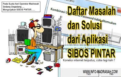 SIBOS PINTAR, masalah sibos pintar, koneksi internet terputus sibos pintar